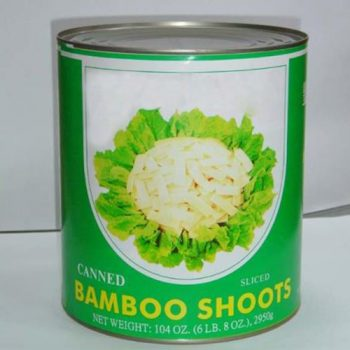 Canned Bamboo Shoots Slices From China