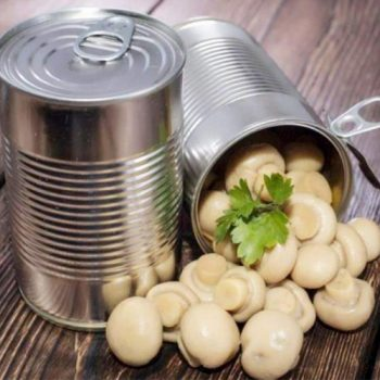 High Quality Canned Mushroom Whole 198g