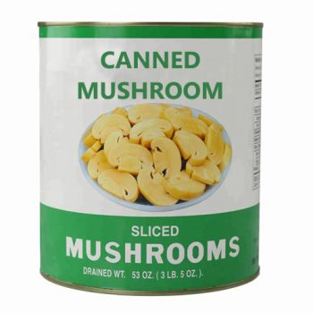 High Quality Canned Mushroom Slice 2840g