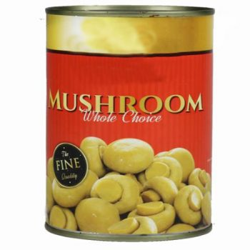 High Quality Canned Mushroom Whole 2840g