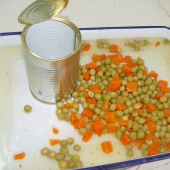 High Quality Canned Green Peas With Carrots