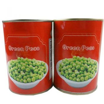 Factory Price Canned Green Peas 3000 g