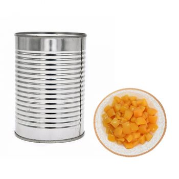 Canned Yellow Peaches 425g in Diced in Light Syrup
