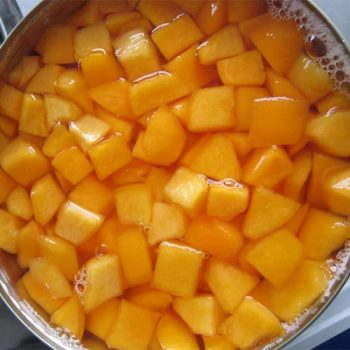 Canned Yellow Peaches 2600g in Diced in Light Syrup