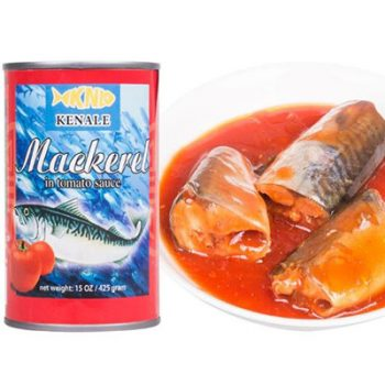 Seafood High Quality 425g Canned Mackerel  in Tomato Sauce