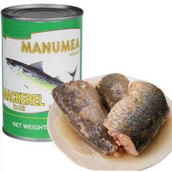 New Fishing Season 155g Canned Mackerel Fish in Oil
