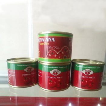 Wholesale High Quality 70g Canned Tomato Paste