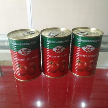 Wholesale High Quality 140g Canned Tomato Paste